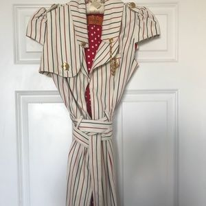 Voom by Joy Han Nautical Striped Dress